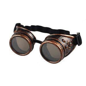 Gafas steampunk de bronce