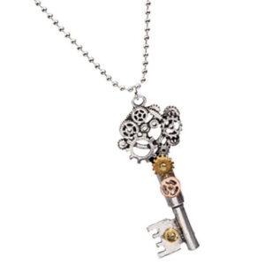 Collar-de-llave-engranaje-steampunk