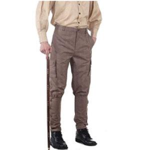 Pantalon-de-cuadros-de-algodon