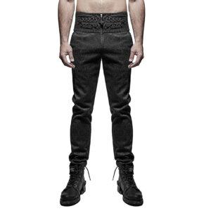 Pantalones hombre Damasco gótico