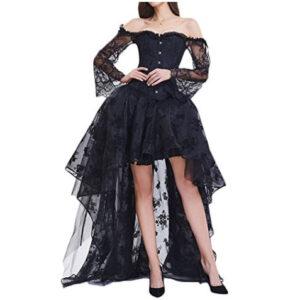 Vestido-de-corse-y-falda-de-encaje-EmilyLe