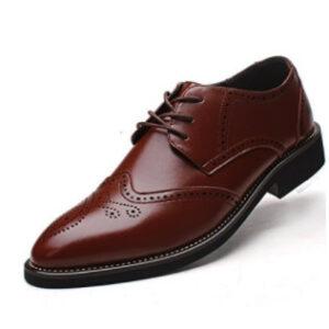 zapato de doble cuero revestido