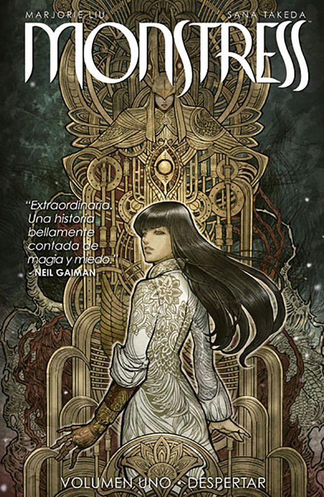 monstress comic steampunk