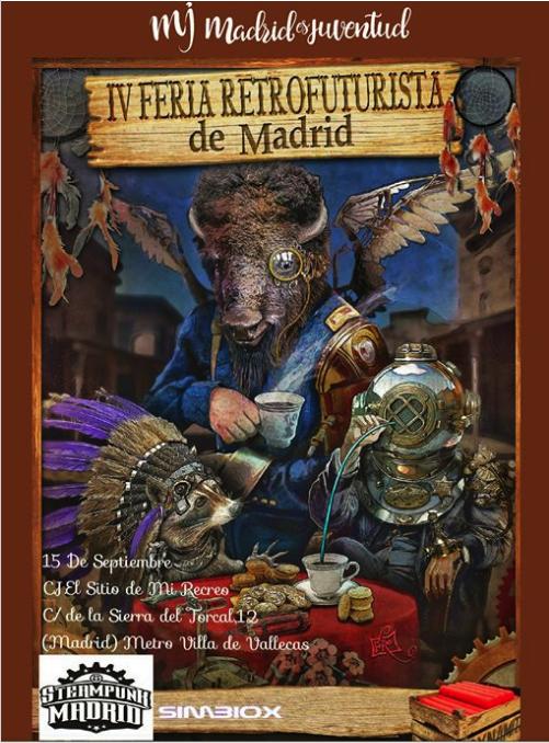 IV feria retrofuturista steampunk de madrid 2018