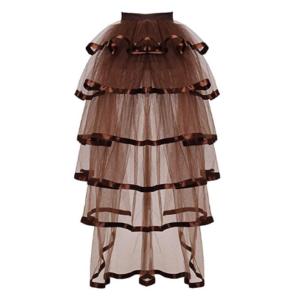 falda victoriana de caida elegante