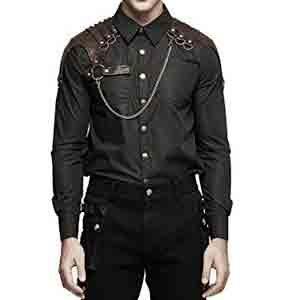 Camisa-steampunk-con-refuerzos-y-cadena