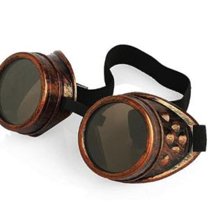 Gafas Steampunk de bronce de alta calidad