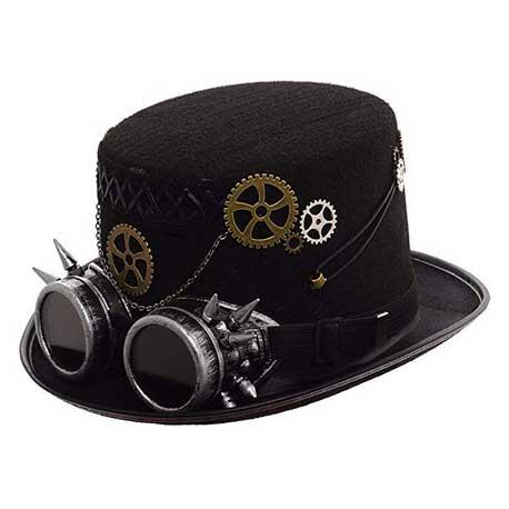 Sombrero con gafas de pincho