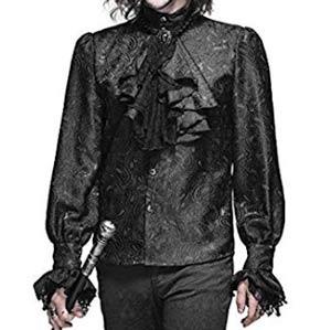 Camisa-negra-de-hombre-Aristocrata-con-corbata