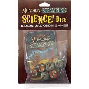 Juego de dados Munchkin steampunk