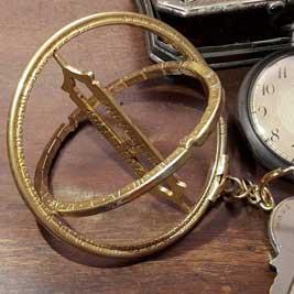 Anillo equinoxial - reloj steampunk