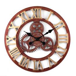Reloj de pared vintage Steampunk