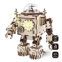 Robot real puzzle 3D