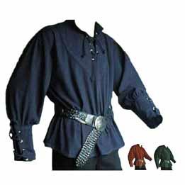 Camisa para disfraz medieval renacentista o steampunk