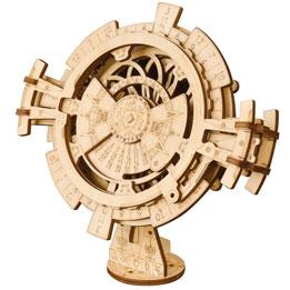Puzzle 3D Calendario perpetuo DIY madera
